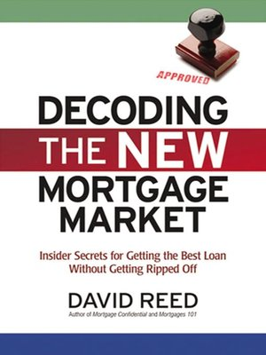 Click this cover for a(n) eBook sample of Decoding the New Mortgage Market.