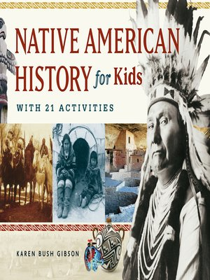 Click this cover for a(n) eBook sample of Native American History for Kids