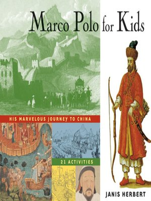 Click this cover for a(n) eBook sample of Marco Polo for Kids