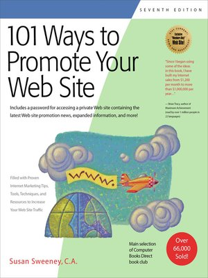 Click this cover for a(n) eBook sample of 101 Ways to Promote Your Web Site
