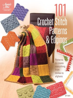 Click this cover for a(n) eBook sample of 101 Crochet Stitch Patterns & Edgings