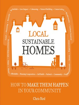 Click this cover for a(n) eBook sample of Local Sustainable Homes