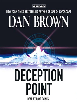 Click this cover for a(n) Audiobook sample of Deception Point.
