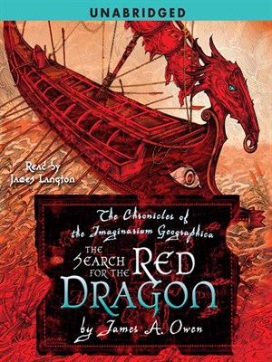 Click this cover for a(n) Audiobook sample of The Search for the Red Dragon.