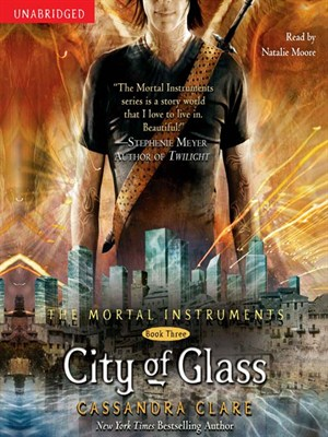 Click this cover for a(n) Audiobook sample of City of Glass.