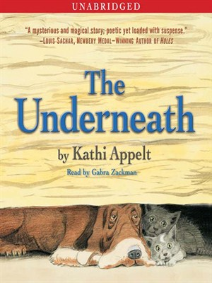 Click this cover for a(n) Audiobook sample of The Underneath.
