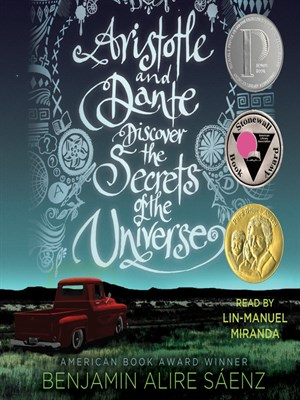 Click this cover for a(n) Audiobook sample of Aristotle and Dante Discover the Secrets of the Universe.