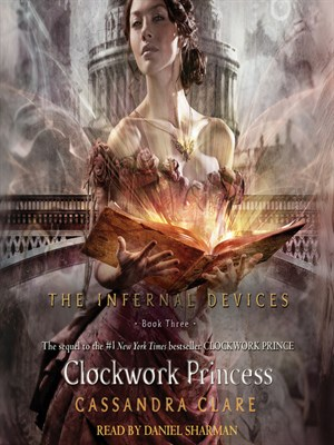 Click this cover for a(n) Audiobook sample of Clockwork Princess.
