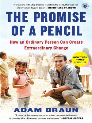 Cover of The Promise of a Pencil
