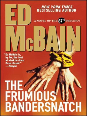 Cover of The Frumious Bandersnatch