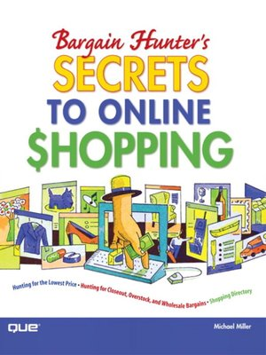 Click this cover for a(n) eBook sample of Bargain Hunter's Secrets to Online Shopping