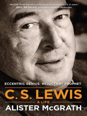 Click this cover for a(n) eBook sample of C. S. Lewis--A Life.