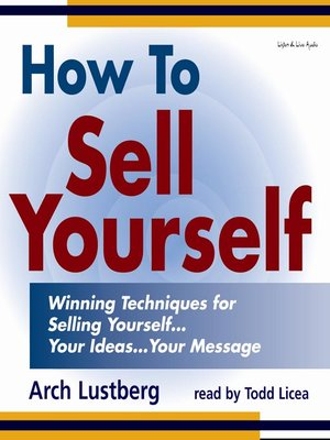 how to sell yourself example