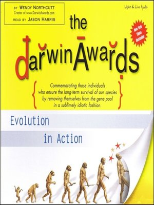 Click this cover for a(n) Audiobook sample of The Darwin Awards.