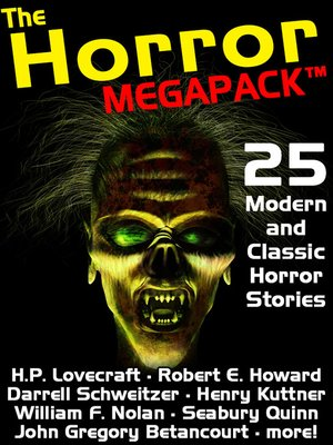 Click this cover for a(n) eBook sample of The Horror Megapack