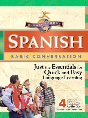 Click this cover for a(n) Audiobook sample of Global Access Spanish Basic Conversation.