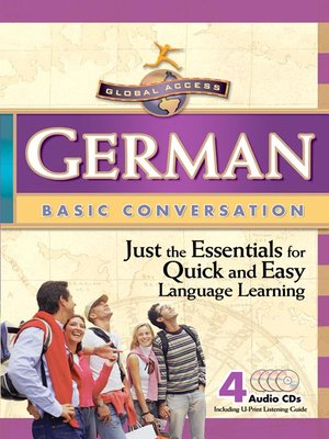 Cover image for Global Access German Basic Conversation