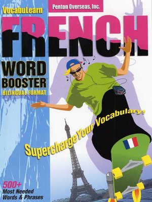 Click this cover for a(n) Audiobook sample of VocabuLearn® French Word Booster.