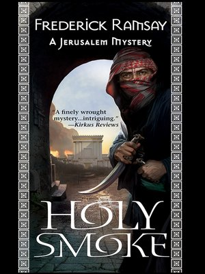 Click this cover for a(n) eBook sample of Holy Smoke.