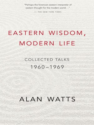 Click this cover for a(n) eBook sample of Eastern Wisdom, Modern Life.