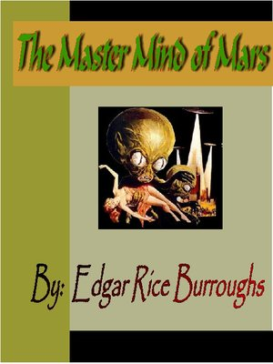 Click this cover for a(n) eBook sample of The Master Mind of Mars.