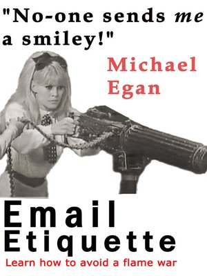 Click this cover for a(n) eBook sample of Email Etiquette.
