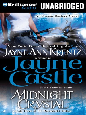 Click this cover for a(n) Audiobook sample of Midnight Crystal.