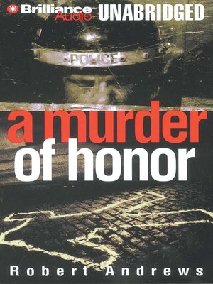 Cover of A Murder of Honor