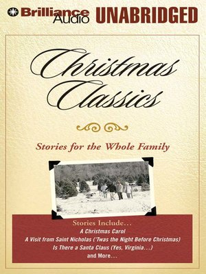 Click this cover for a(n) Audiobook sample of Christmas Classics