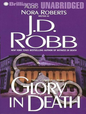 Click this cover for a(n) Audiobook sample of Glory in Death.
