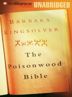 Click this cover for a(n) Audiobook sample of The Poisonwood Bible.
