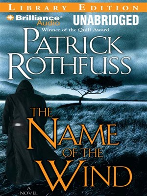 Click this cover for a(n) Audiobook sample of The Name of the Wind.
