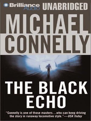 Click this cover for a(n) Audiobook sample of The Black Echo.