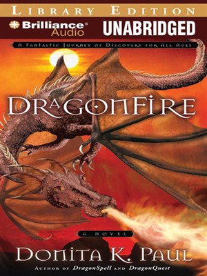 Click this cover for a(n) Audiobook sample of DragonFire
