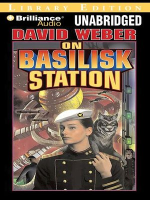 Click this cover for a(n) Audiobook sample of On Basilisk Station.