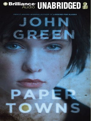 Click this cover for a(n) Audiobook sample of Paper Towns.