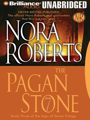 Click this cover for a(n) Audiobook sample of The Pagan Stone.