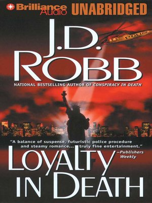 Click this cover for a(n) Audiobook sample of Loyalty in Death.