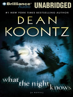 Click this cover for a(n) Audiobook sample of What the Night Knows.