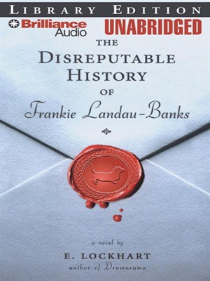 Click this cover for a(n) Audiobook sample of The Disreputable History of Frankie Landau-Banks