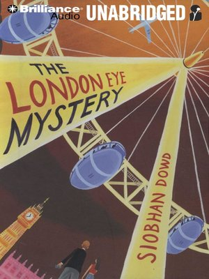 Click this cover for a(n) Audiobook sample of The London Eye Mystery.