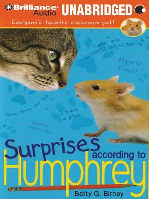 Click this cover for a(n) Audiobook sample of Surprises According to Humphrey.