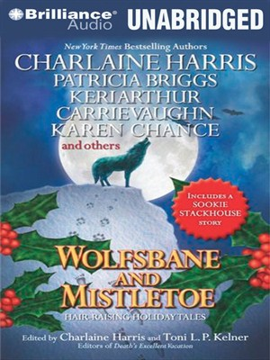 Click this cover for a(n) Audiobook sample of Wolfsbane and Mistletoe.