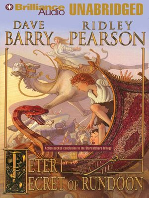 Click this cover for a(n) Audiobook sample of Peter and the Secret of Rundoon.