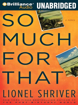 Click this cover for a(n) Audiobook sample of So Much for That.