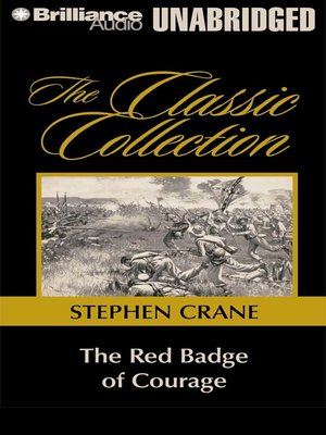 Click this cover for a(n) Audiobook sample of The Red Badge of Courage.