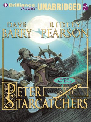 Click this cover for a(n) Audiobook sample of Peter and the Starcatchers.