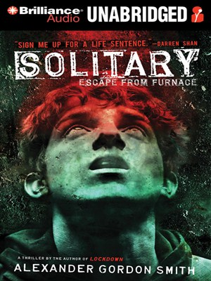 Click this cover for a(n) Audiobook sample of Solitary.