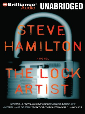 Click this cover for a(n) Audiobook sample of The Lock Artist.