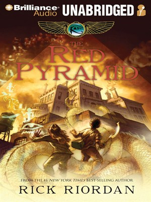 Click this cover for a(n) Audiobook sample of The Red Pyramid.